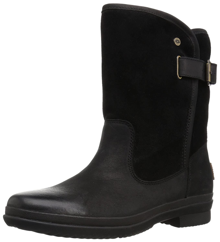a04db77e8fe UGG Women's Oren Fashion Boot, Black, 5 M US: Amazon.co.uk: Shoes & Bags
