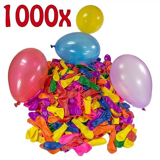 34 opinioni per Belmalia 1000 Palloncini d'acqua, Gavettoni, colorato, facile da riempire