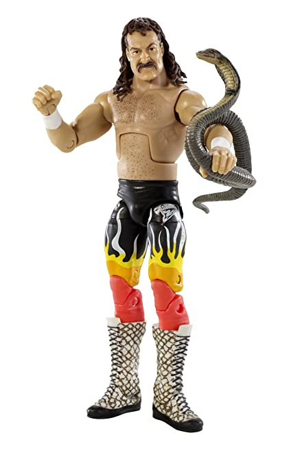 2aa0dad9949f25 Amazon.com: Wwe Legends Jake The Snake Roberts Collector Figure: Toys &  Games