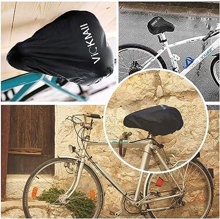 Bike Seat Cover Sayla Wasserdichter Sattelbezug Mountainbike Der perfekte Sattelschutz f/ür Ihr Fahrrad wie Rennrad Elastische Wasserfeste Fahrradsattel Schutzh/ülle Universalgr/ö/ße