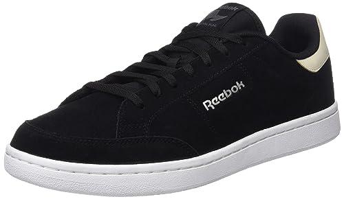 Reebok Royal Smash SDE, Zapatillas para Hombre, Negro (Black/Stucco/Alloy/White/Silver), 45 EU