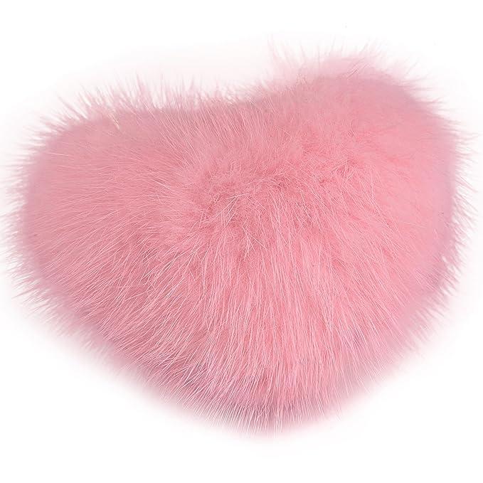 Amazon.com: URSFUR Di-Nesh – Pompon en forma de corazón ...
