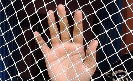 Anti Bird Net 6 X 10 Foot (60 Sq Ft), White