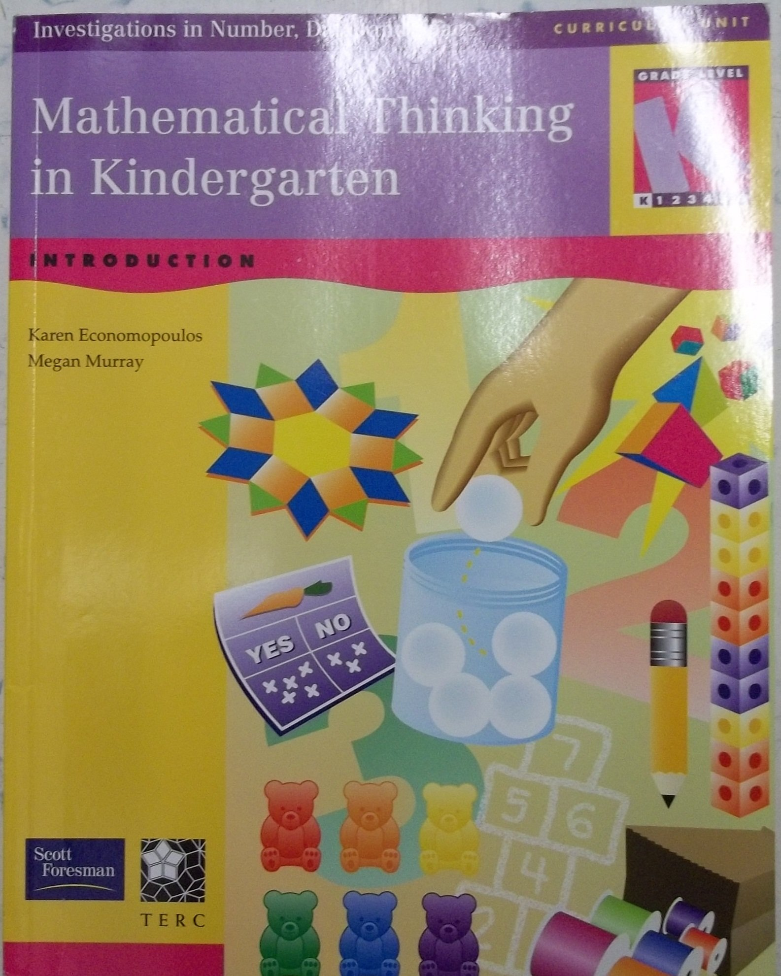 Mathematical Thinking in Kindergarten: Investigations in Number, Data, and Space Level K PDF