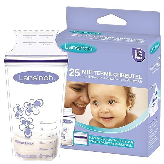 234 opinioni per Lansinoh 99204- Contenitori per latte materno, 25 pezzi