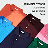Calvin Klein Men's Liquid Touch Polo Solid with Uv