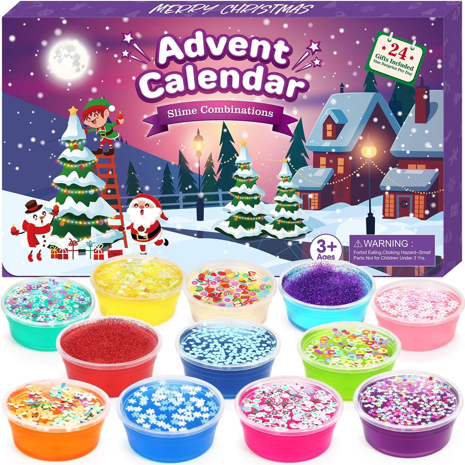 The Christmas Calendar 2020 Release Amazon.com: ELOVER Slime Advent Calendar 2020 for Girls Great