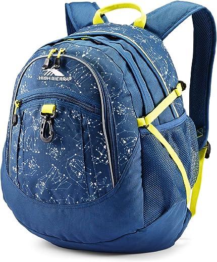 حقيبة ظهر من High Sierra Fatboy - حقيبة ظهر للطلاب صغيرة وخفيفة الوزن