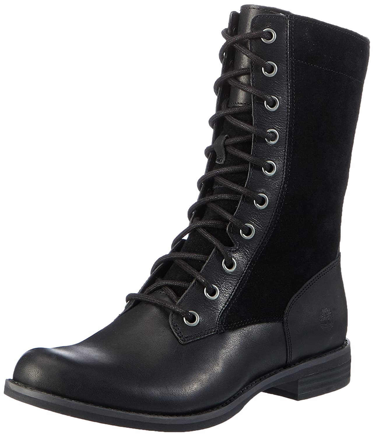 Details about Timberland Women's 14 Inch Premium Side Zip Lace Waterproof Boot 8632A Black