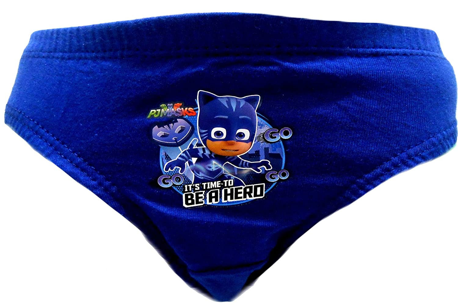 PJ Masks Be a Hero Boys 6 pezzi Slip mutande