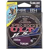 サンライン(SUNLINE) PEライン ソルティメイト エギ ULT HS4 240m 0.5号
