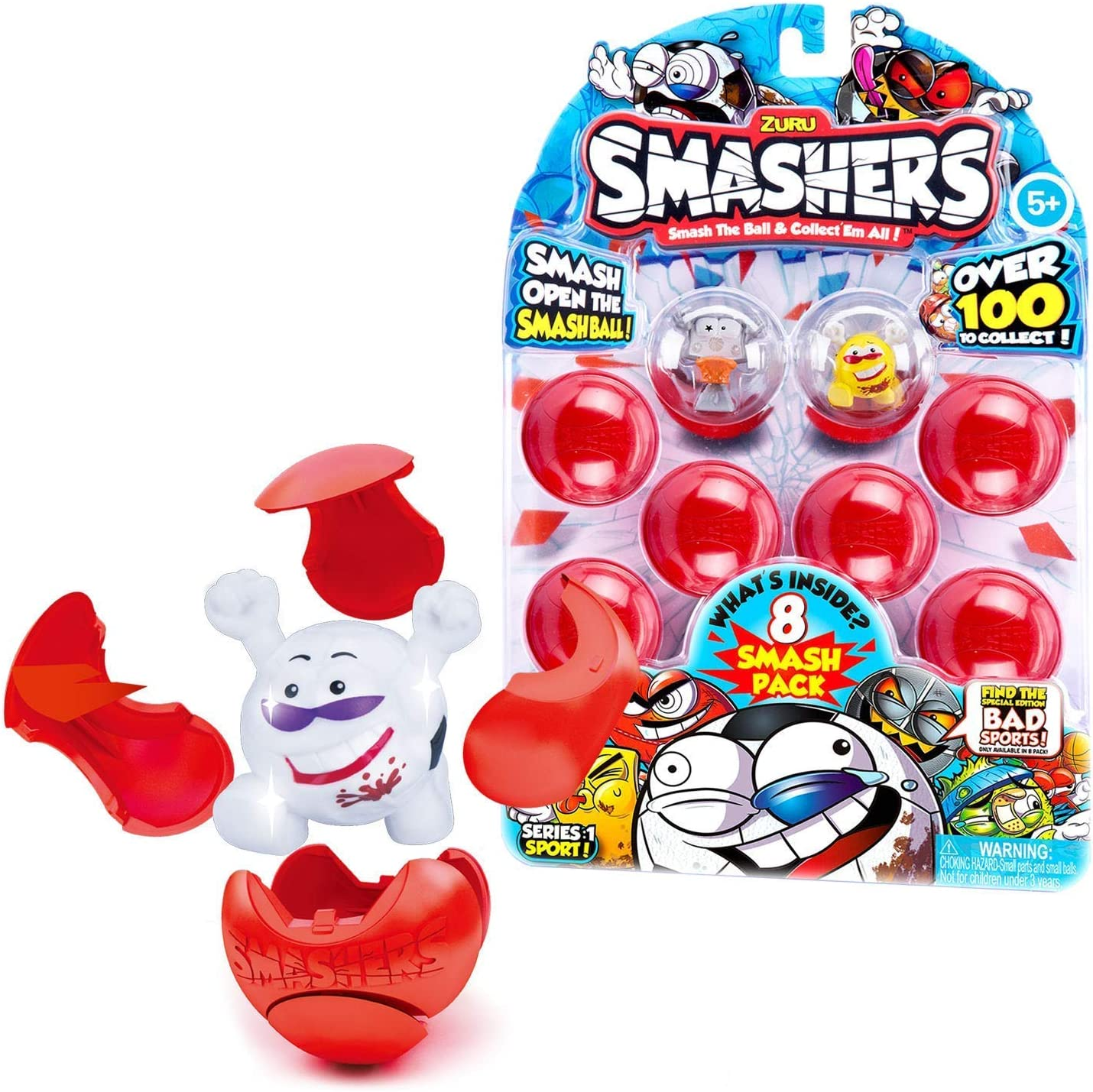 Zuru Smashers Smash Ball boues Bus limited edition Collectables Toy 2 Smashers