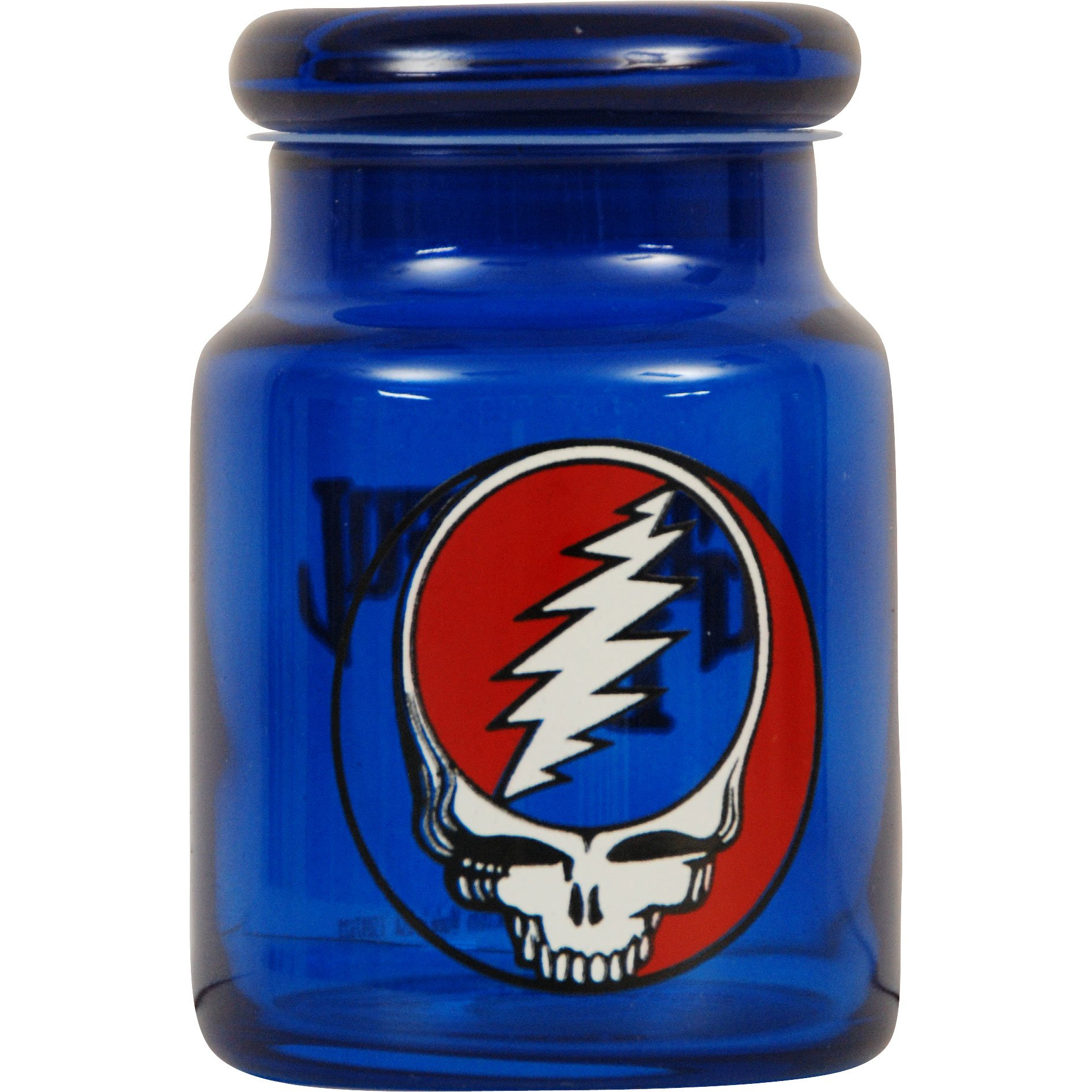 ICUP Grateful Dead Steal Your Face Jar, 6 oz, Clear