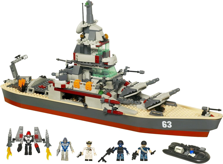 Amazon Com Kre O Battleship U S S Missouri Set 38977 Discontinued By Manufacturer Toys Games