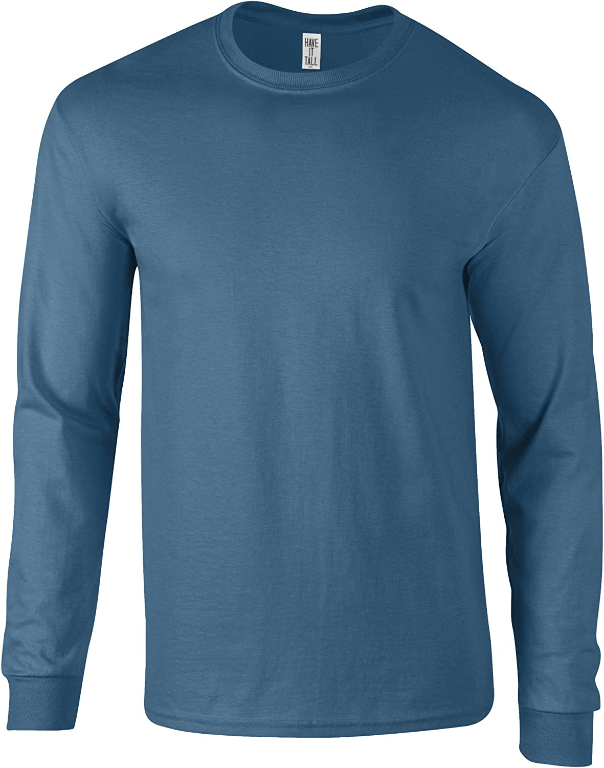Cotton Long Sleeve Sizes S 2XL Have It Tall T Shirts for Men and Women