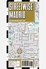 Streetwise Madrid Map - Laminated City Center Street Map of Madrid, Spain (Michelin Streetwise Maps) Map