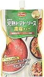 キッコーマン食品 デルモンテ 基本の完熟トマト・ソース 濃縮タイプ 200g×10個