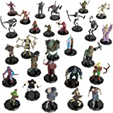 Dungeons and Dragons Painted Mini Figures- Variety Pack Painted Miniatures Set for D&D and Other Tabletop Games- Features Gob