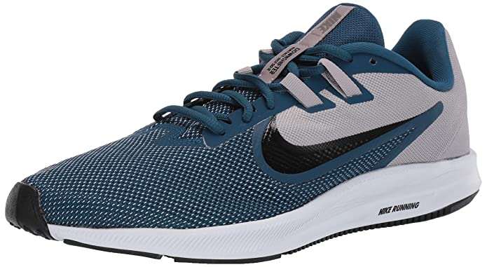 Nike Downshifter 9 Atmosphere Grey/Topaz Mist/Blue Force