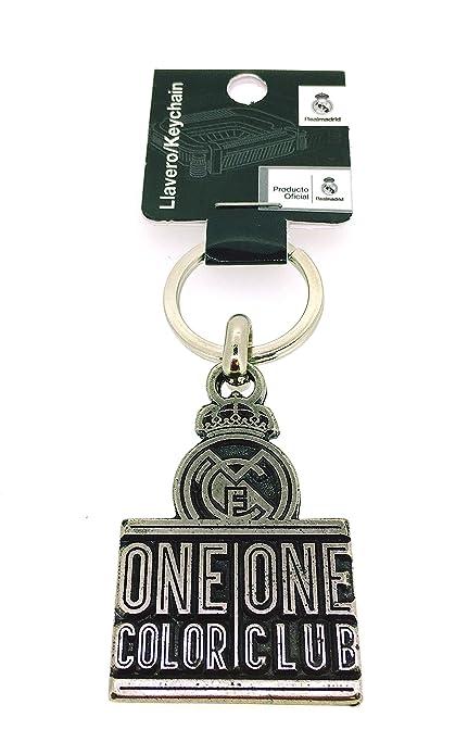 Llavero Real Madrid Club de Fútbol One Color One Club ...