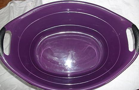 Vasca Da Bagno Litri : Vasca da bagno in vasca da litri viola con manici ergonomici