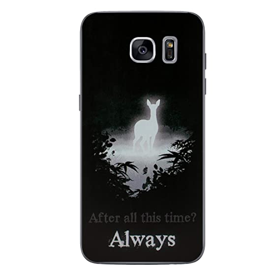 best cheap e19b4 dab7f Galaxy S7 Edge Harry Potter Patronus Silicone Phone Case/Gel Cover for  Samsung Galaxy S 7 Edge (S7 Edge/G935) / Screen Protector & Cloth/iCHOOSE /  ...