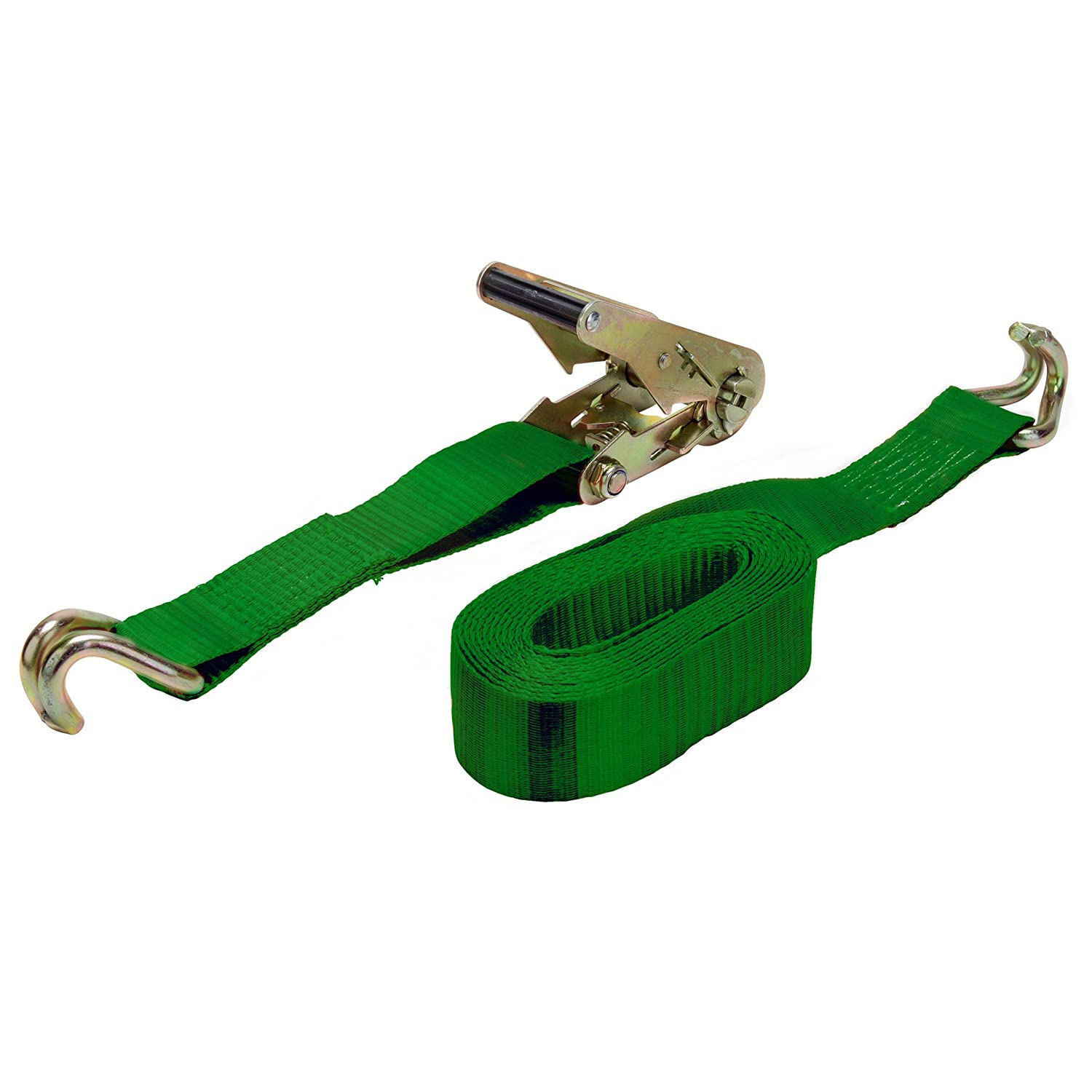 4 Pack Keeper 04618 16 x 2 Ratchet Tie-Down with J-Hooks