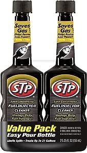 STP Fuel Injector Cleaner, Super Concentrated, Bottles, 5.25 Fl Oz, Pack of 2, 78577