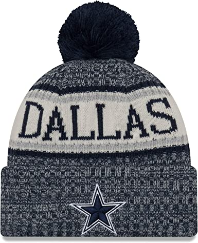 half price release info on classic styles Amazon.com : New Era Dallas Cowboys Sport Knit NFL Beanie Unisex ...