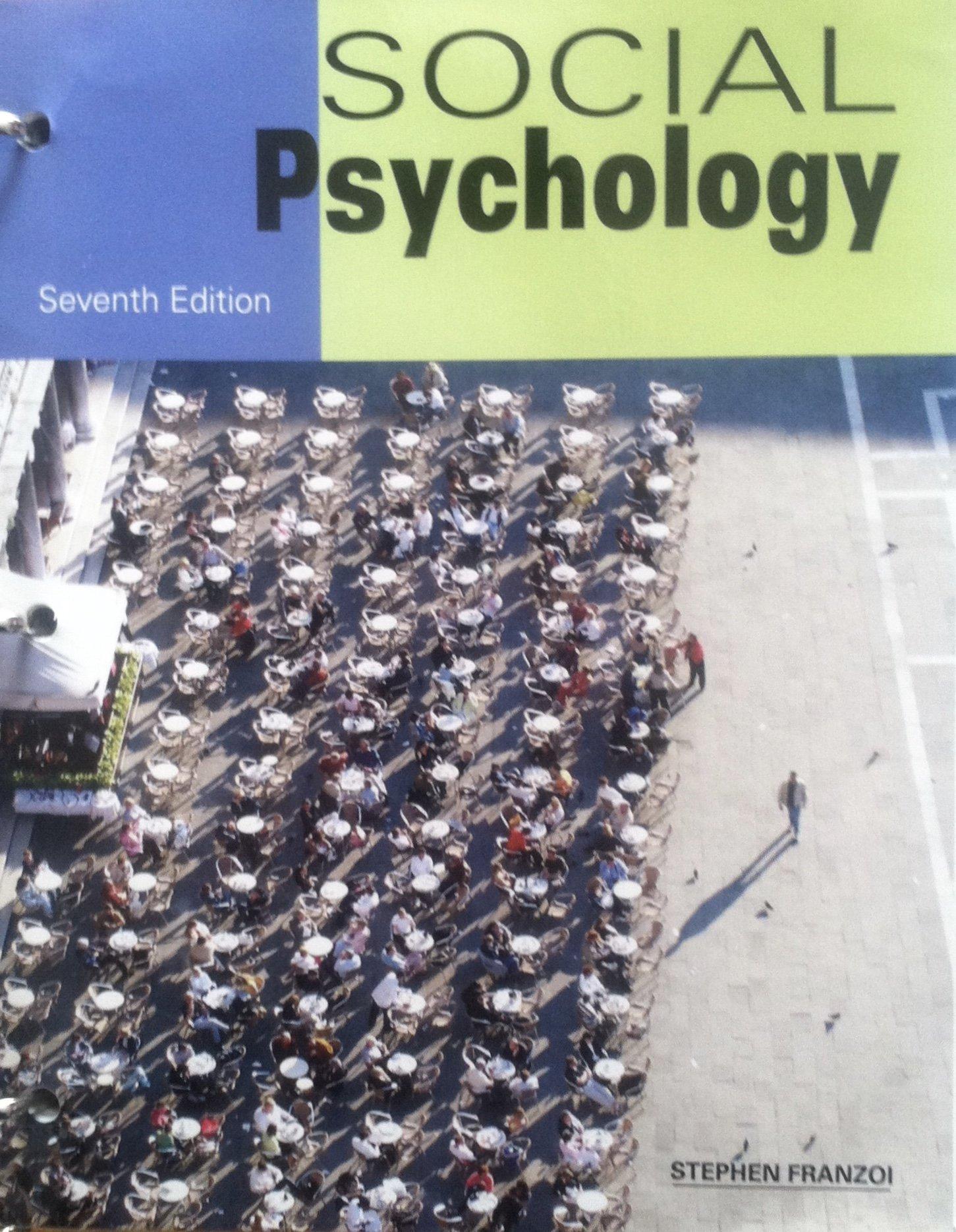 Social Psychology 8th Edition Aronson Pdf