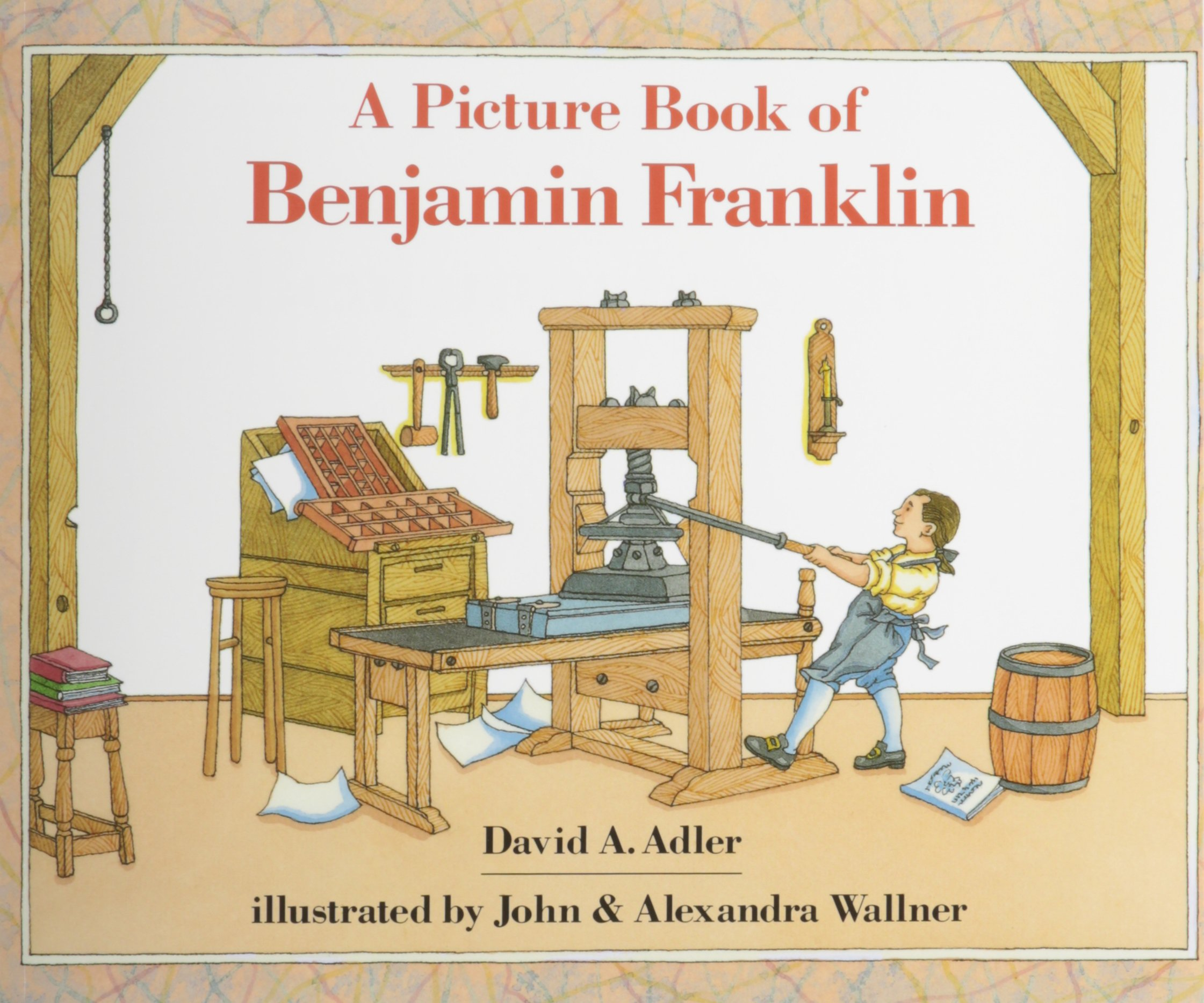 Picture Book of Benjamin Franklin, a (1 Paperback/1 CD) (Picture Book Biographies) pdf