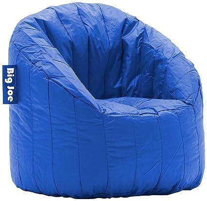 Ordinaire Big Joe Lumin SmartMax Fabric Chair, Blue Sapphire