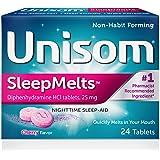 Amazon.com: Unisom SleepMelts, Nighttime Sleep-Aid, 25 mg ...