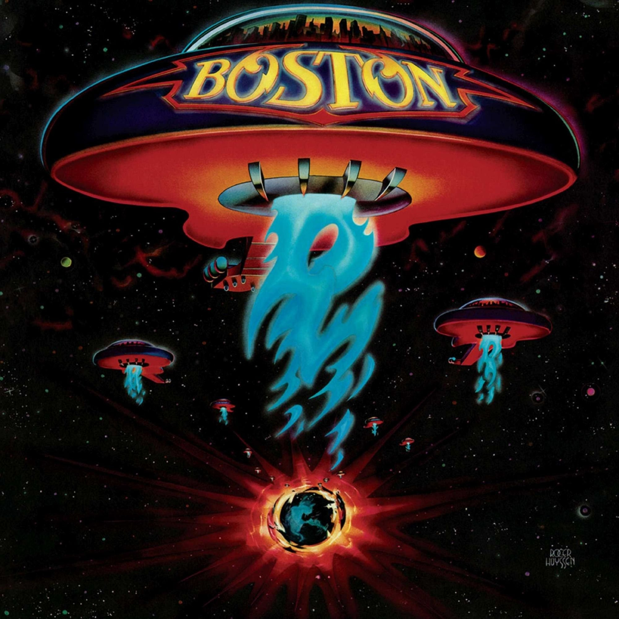 Vinilo : Boston - Boston (Red, Limited Edition, 180 Gram Vinyl, Gatefold LP Jacket, Colored Vinyl)