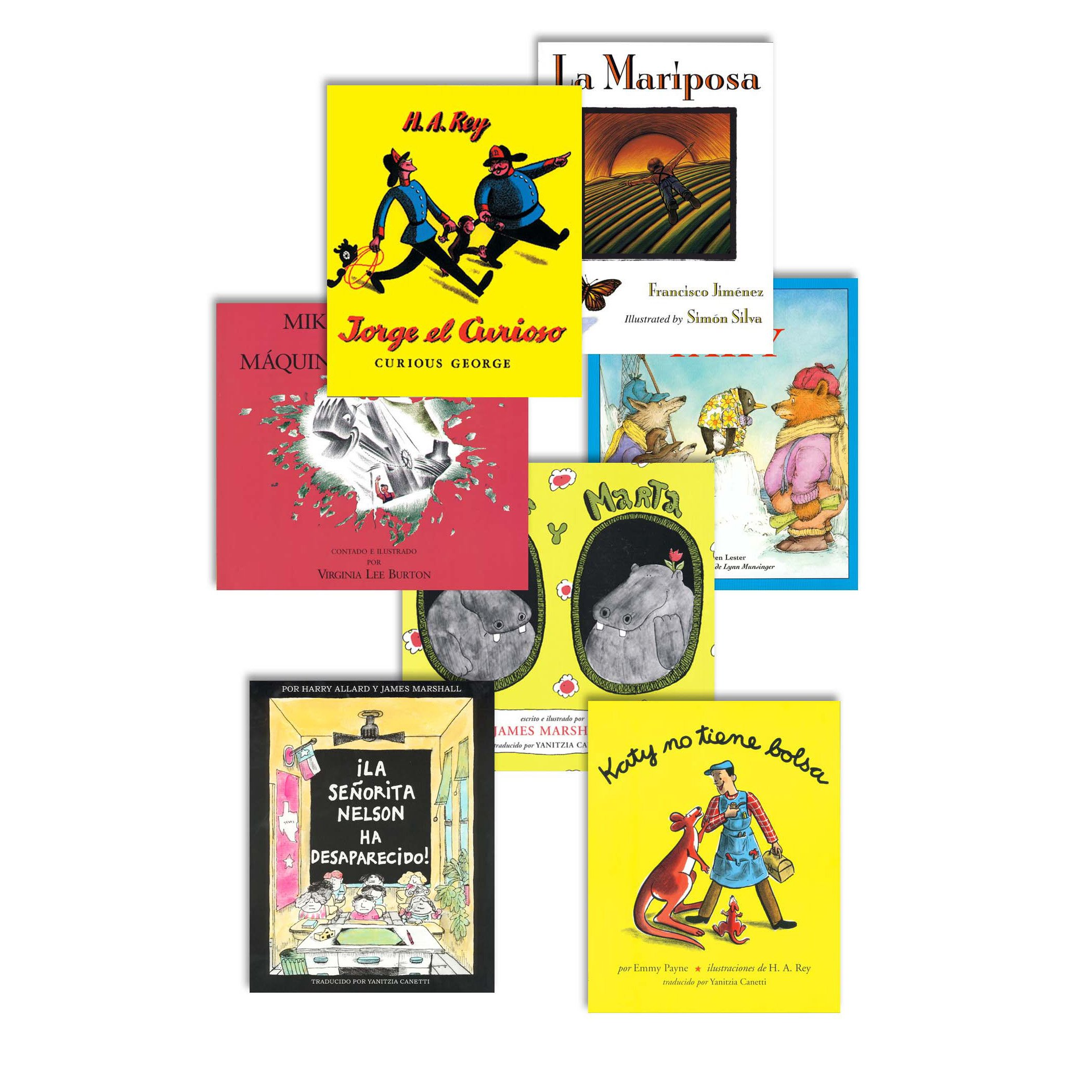 Houghton Mifflin ISBN9780618681129 Spanish Storybook Set Grade 1.29'' Height, 8.74'' Wide, 10.97'' Length (Pack of 7) by Houghton Mifflin
