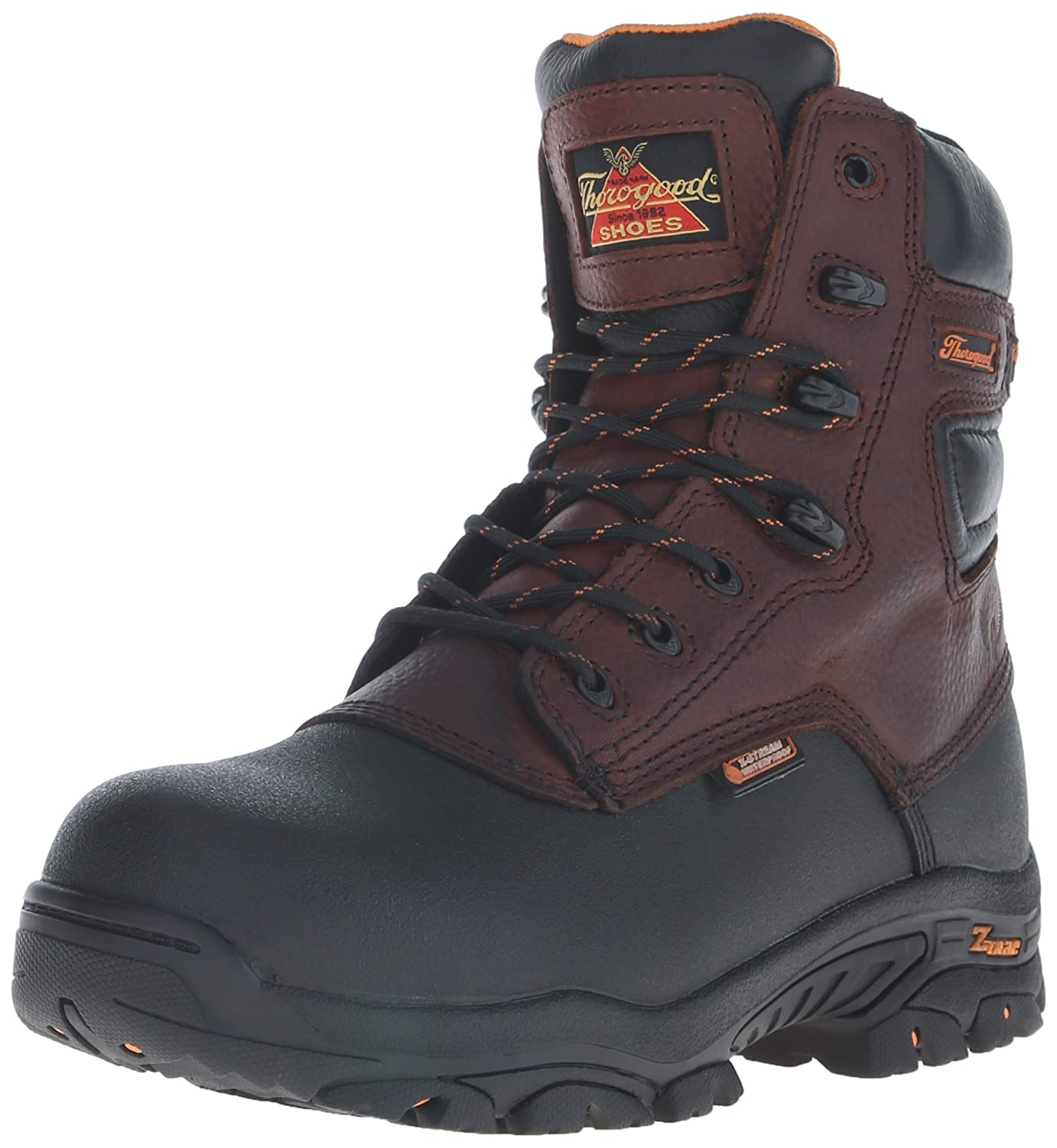 e83b1311665 Thorogood Men's Z - Trac Waterproof Safety Toe Lace-Up Boot