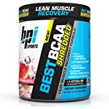 BPI Sports Best BCAA Shredded Caffeine Free Thermogenic Recovery Formula for Lean Muscle Growth, Watermelon Ice, 9.7 Ounce