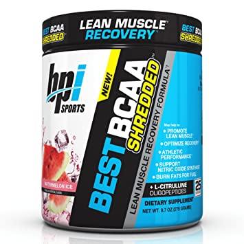Bpi Sports Best Bcaa Shredded Caffeine Free Thermogenic Recovery Formula Bcaa