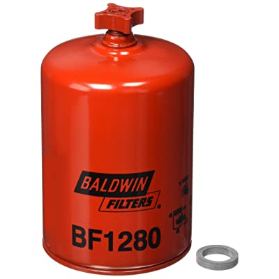 Baldwin BF1280 Heavy Duty Diesel Fuel Spin-On Filter: Automotive