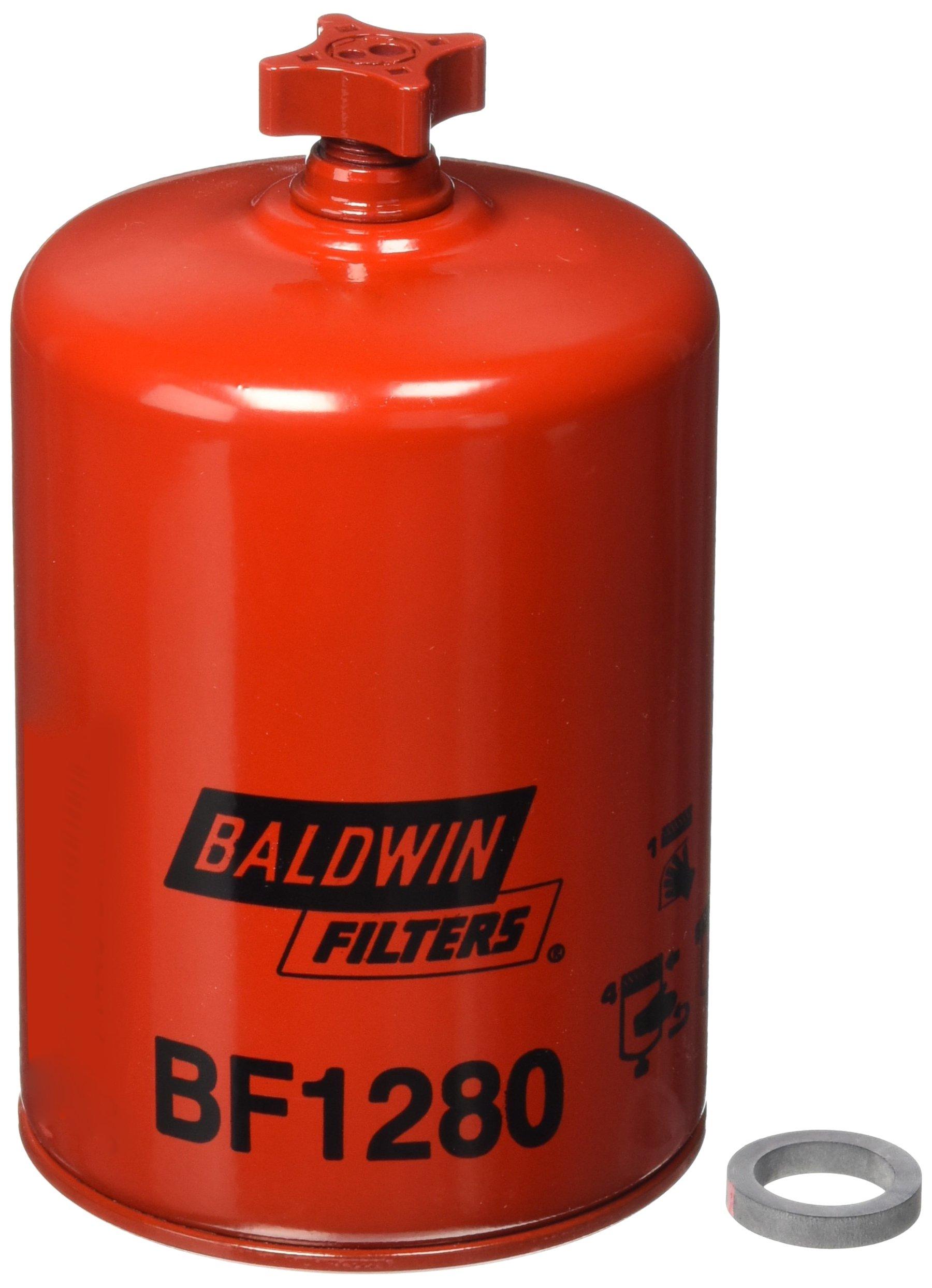 Baldwin BF1280 Heavy Duty Diesel Fuel Spin-On Filter by Baldwin