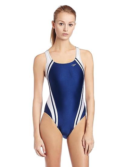 7d549e8ac5 Speedo Women's Race Quantum Splice Super Pro Swimsuit, Navy and White, 26:  Amazon.in: Sports, Fitness & Outdoors