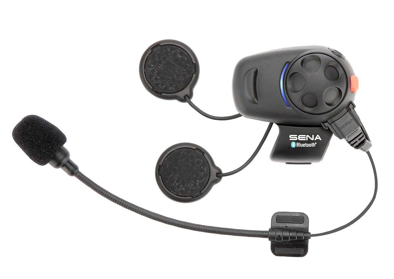 0a7eabfa1d5 Sena SMH5-01 Bluetooth Headset/ Intercom for Scooters/ Motorcycles - Black:  Amazon.co.uk: Car & Motorbike