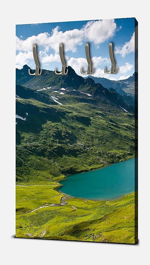wandmotiv24 Guardarropa Montañas caucásicas Retrato - 55x100 ...