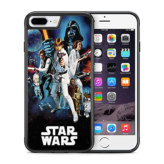 Modifiedcases Vintage 1 Wallpaper Star Wars Bumper Case Compatible With Apple Iphone 7 Plus 8 Plus
