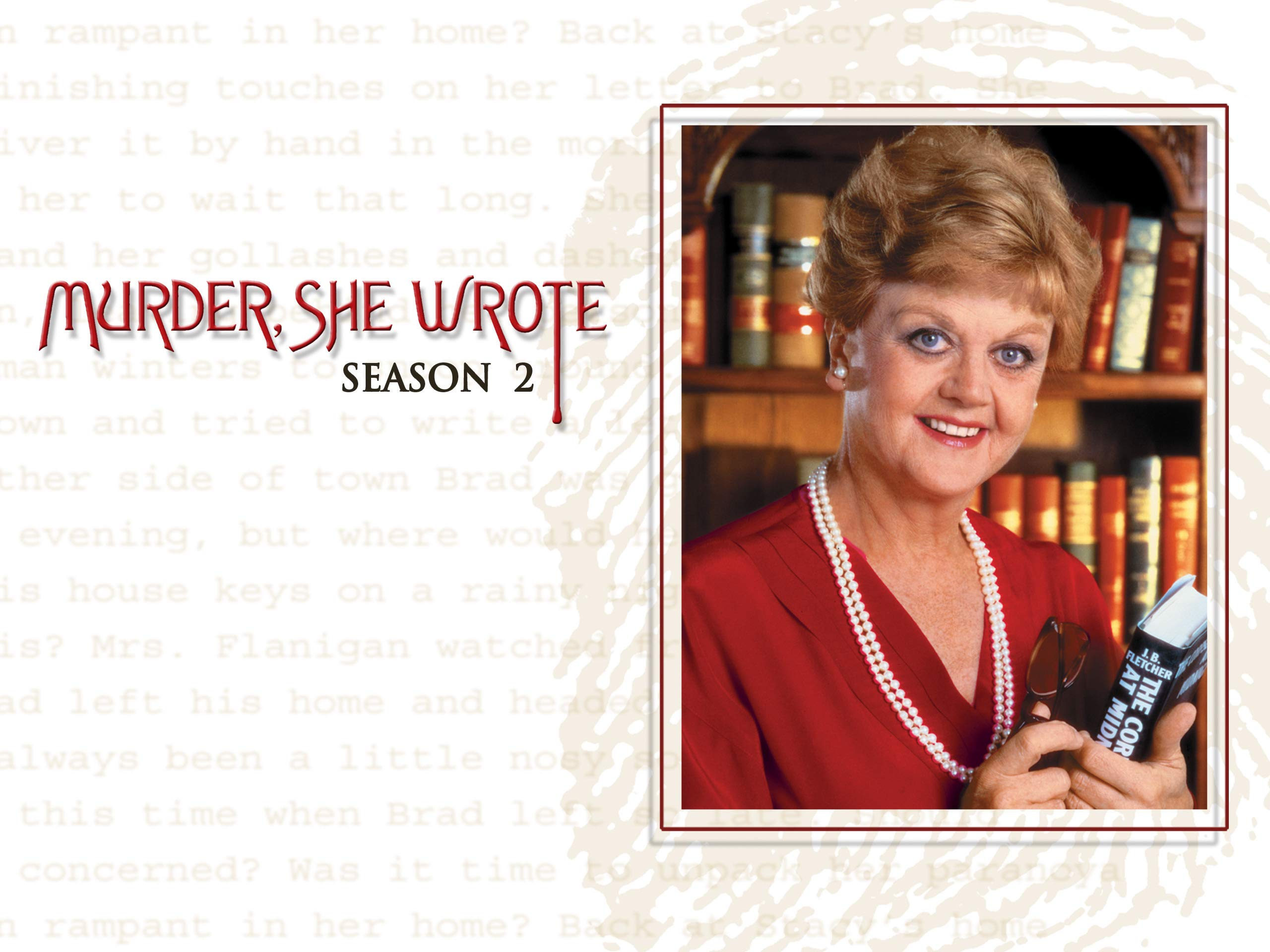 Watch Murder She Wrote Season 2 Prime Video