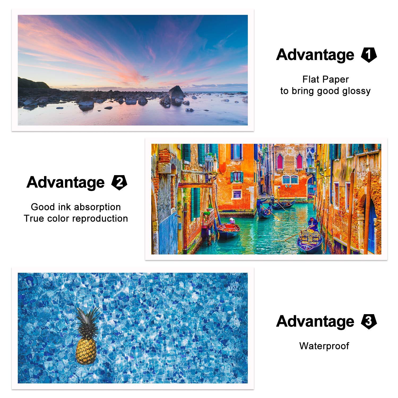 Koala Glossy Inkjet Photo Paper for Inkjet Printing 4x6 Inches,100 Sheets,180gsm