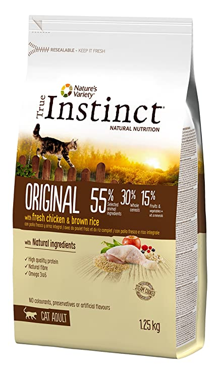 True Instinct pienso para Gatos Original Pollo: Amazon.es: Productos para mascotas