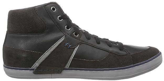 Geox U Box B, Sneakers Hautes Homme, Noir (C6524), 46 EU