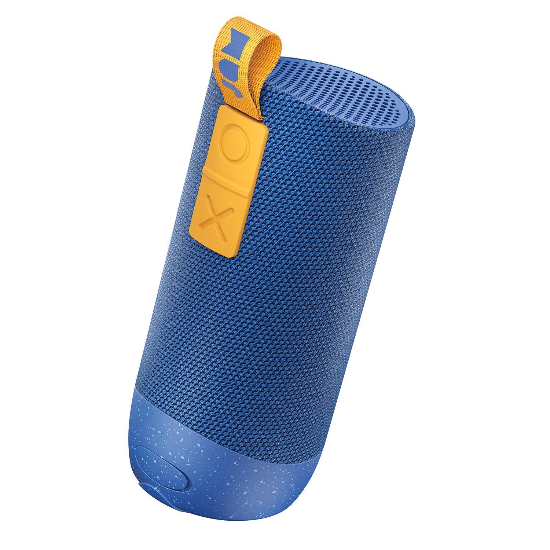 Jam Zero Chill. Altavoz Bluetooth, radio de 30 metros, resistente al agua, reproducción durante 22 horas, protección contra caídas IP67, controlador de 10 vatios, azul