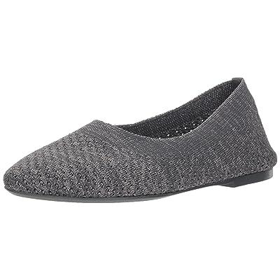 Skechers Women's Cleo - Star Daze - Metallic Engineered Knit Skimmer Ballet Flat | Shoes